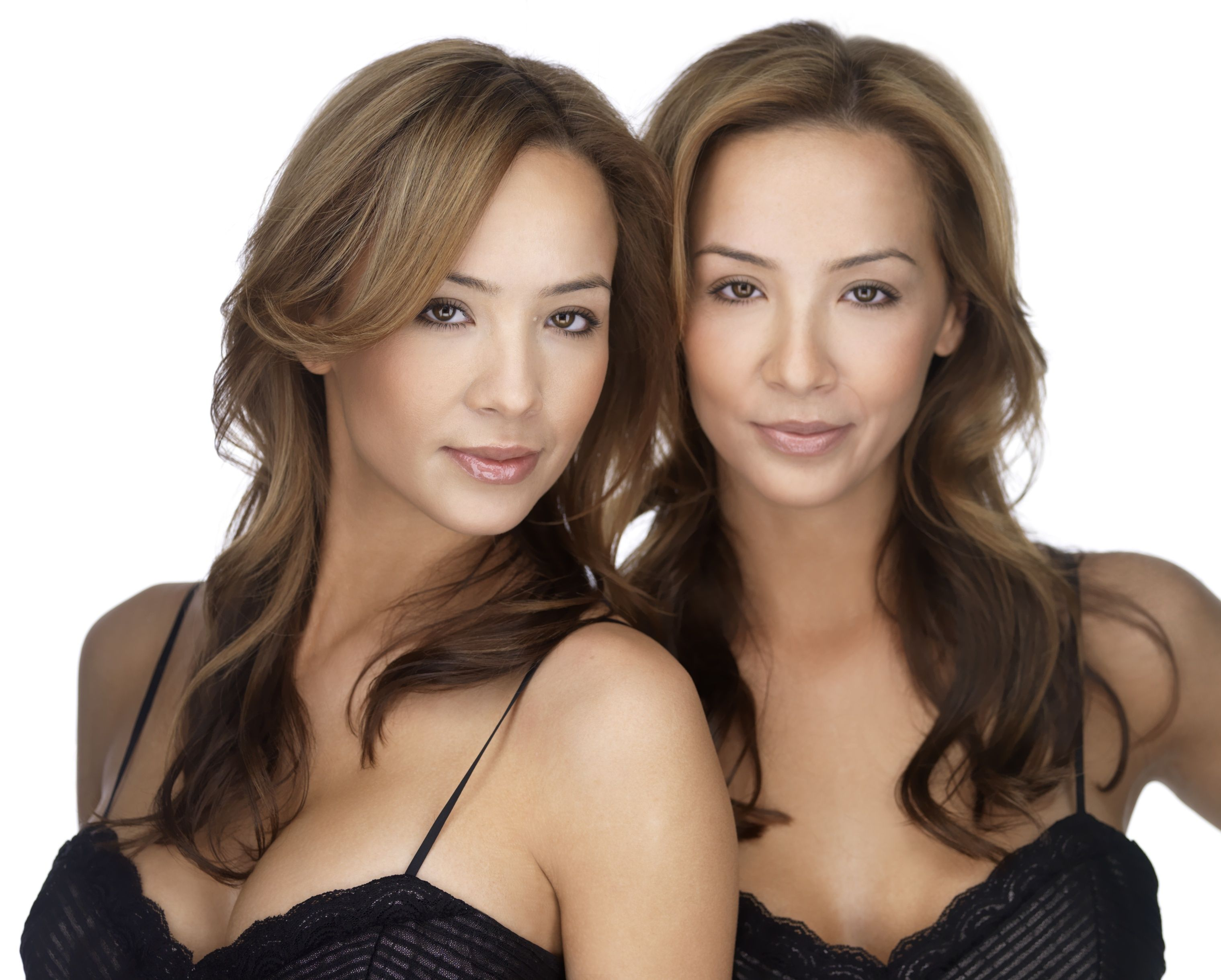 sexy sister identical twin