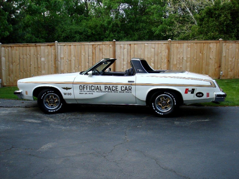 1974 hurst olds convertible pace car muscle cars pinterest. Black Bedroom Furniture Sets. Home Design Ideas