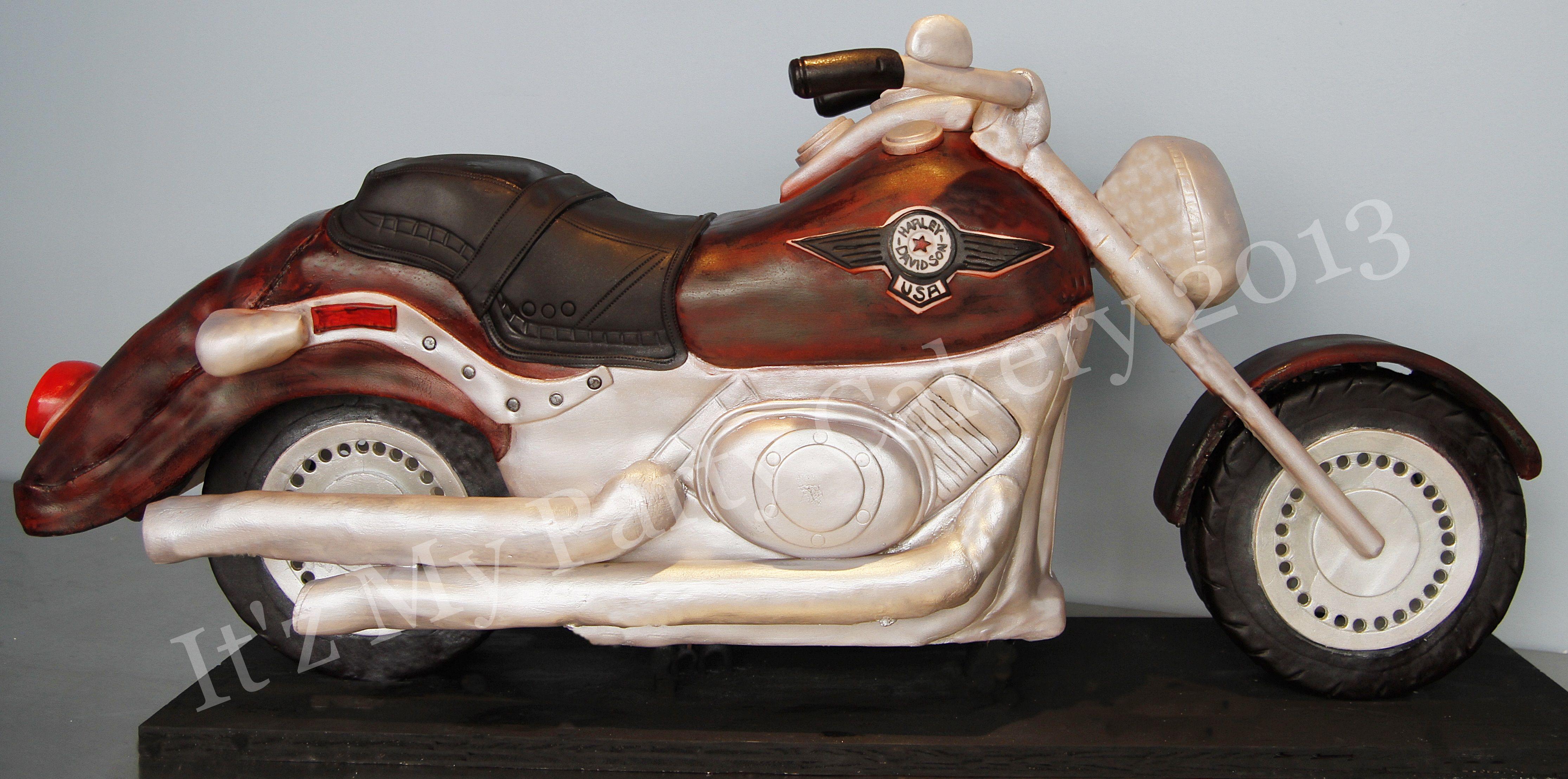 Edible Cake Images Harley Davidson : Harley Davidson Edible Cake Ideas and Designs