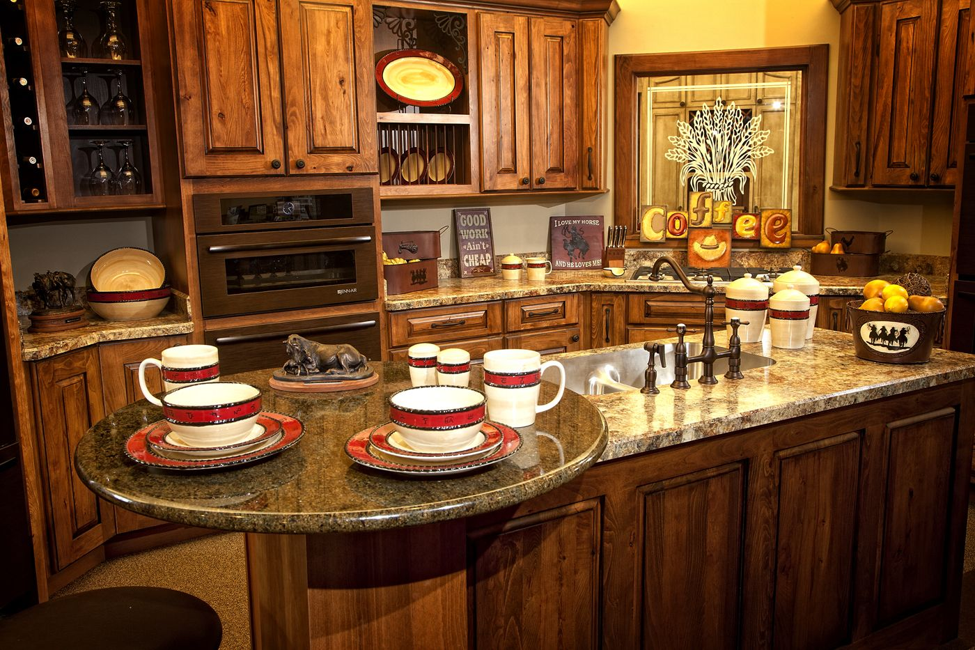 Beautiful western kitchen home ideas pinterest - Western kitchen ideas ...