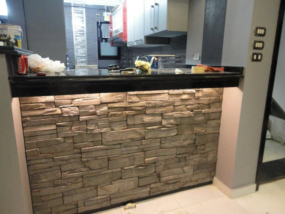 Condo Kitchen Bar Kitchen Stone Aplications Pinterest