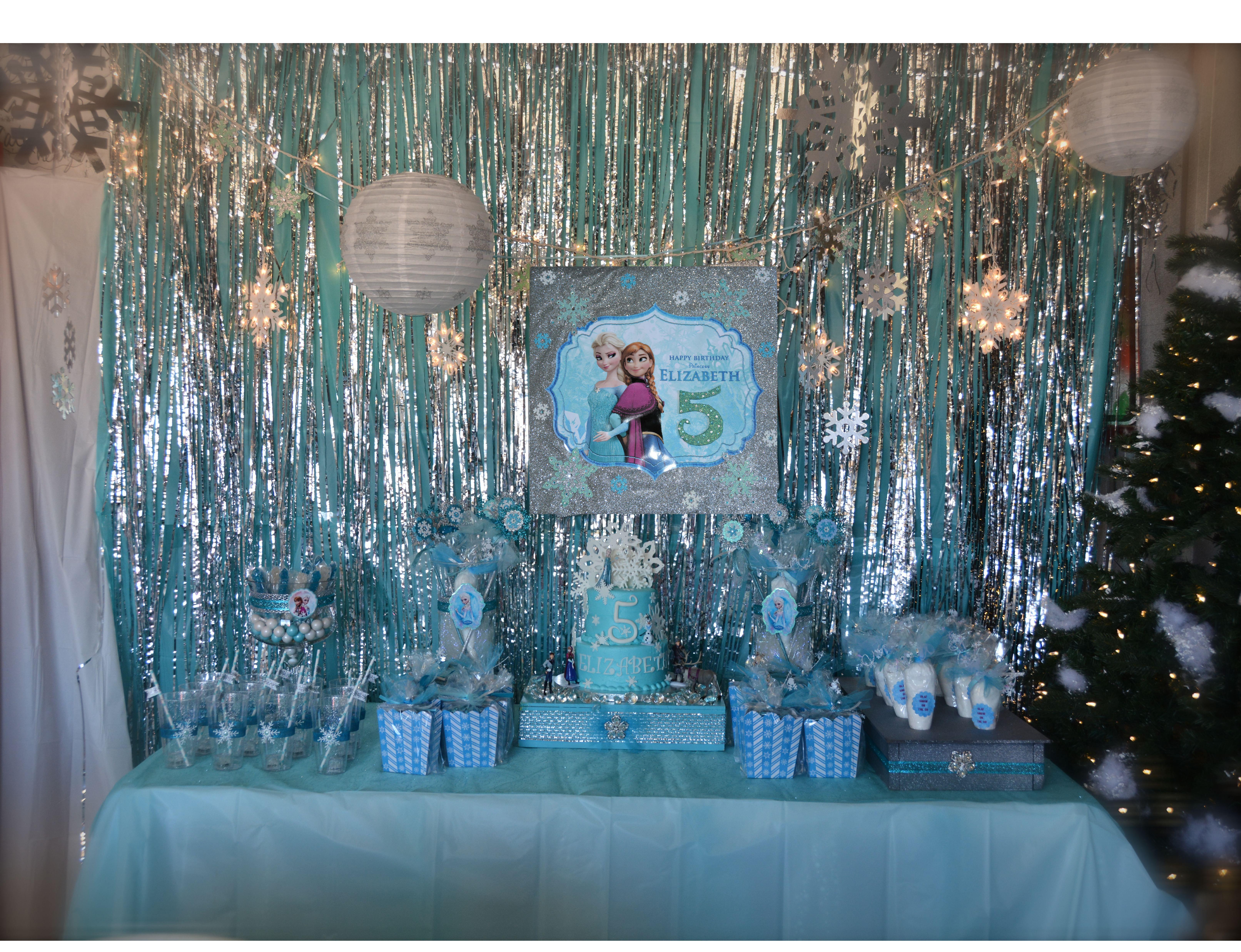 Frozen Theme Party Invitations Ideas