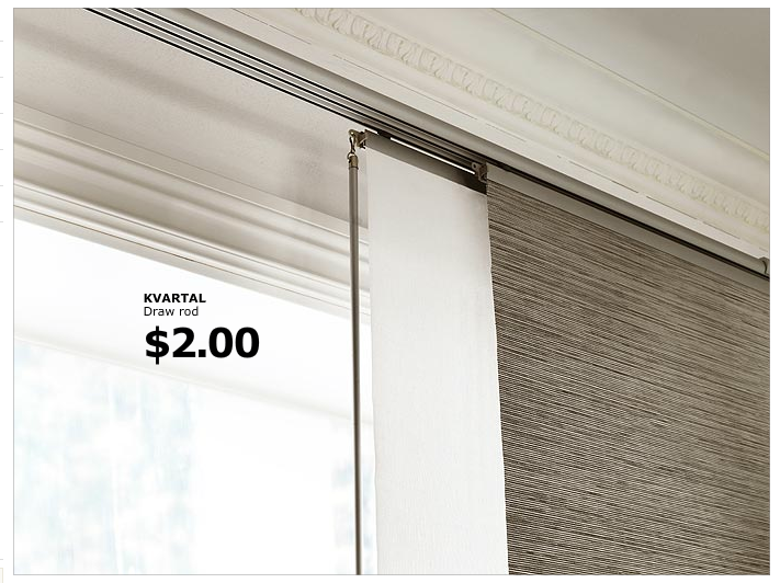 Ikea Curtain Panels And Tracks Home Ideas Pinterest
