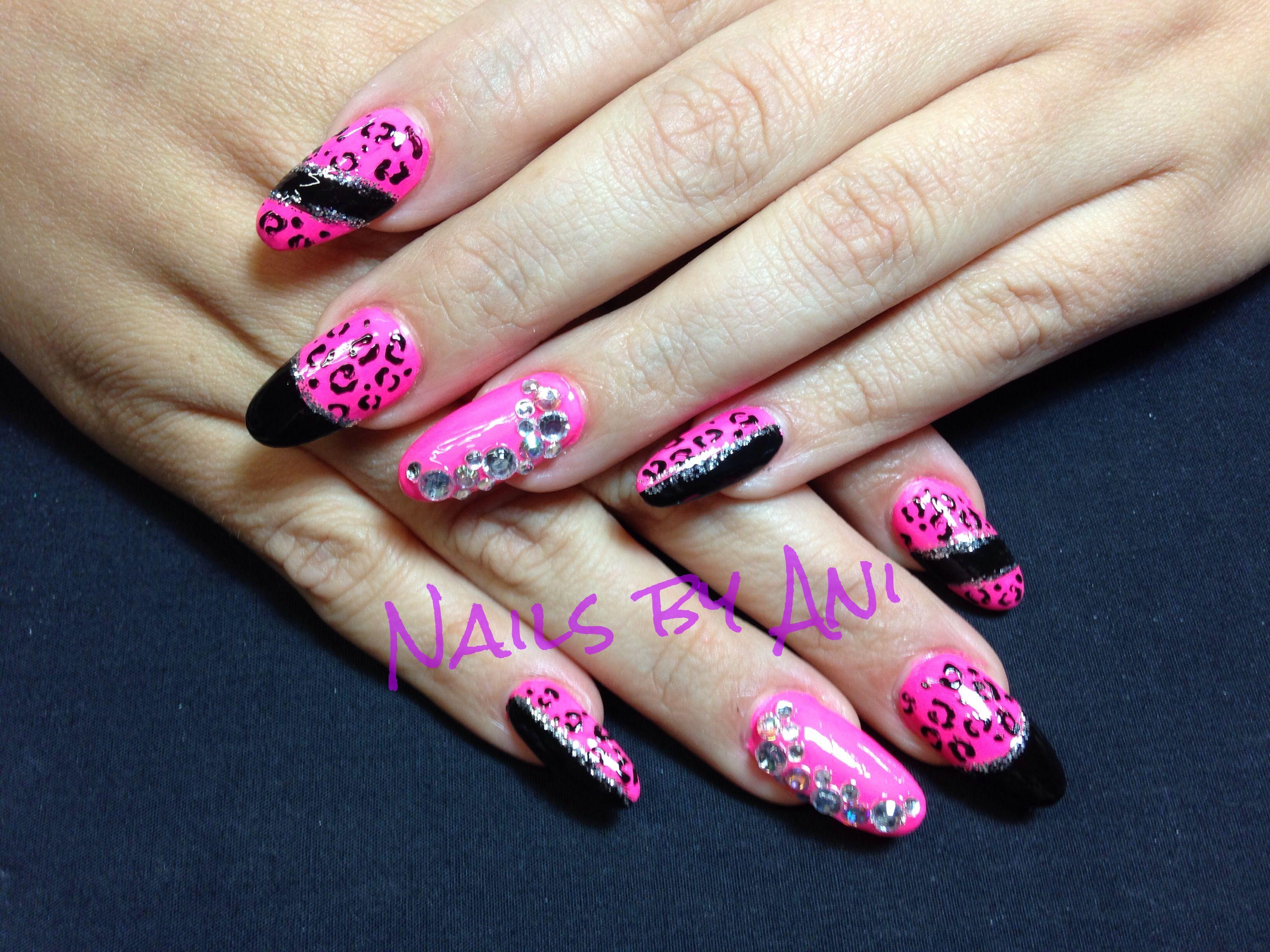 Acrylic nail designs stiletto : Stiletto nail acrylic designs