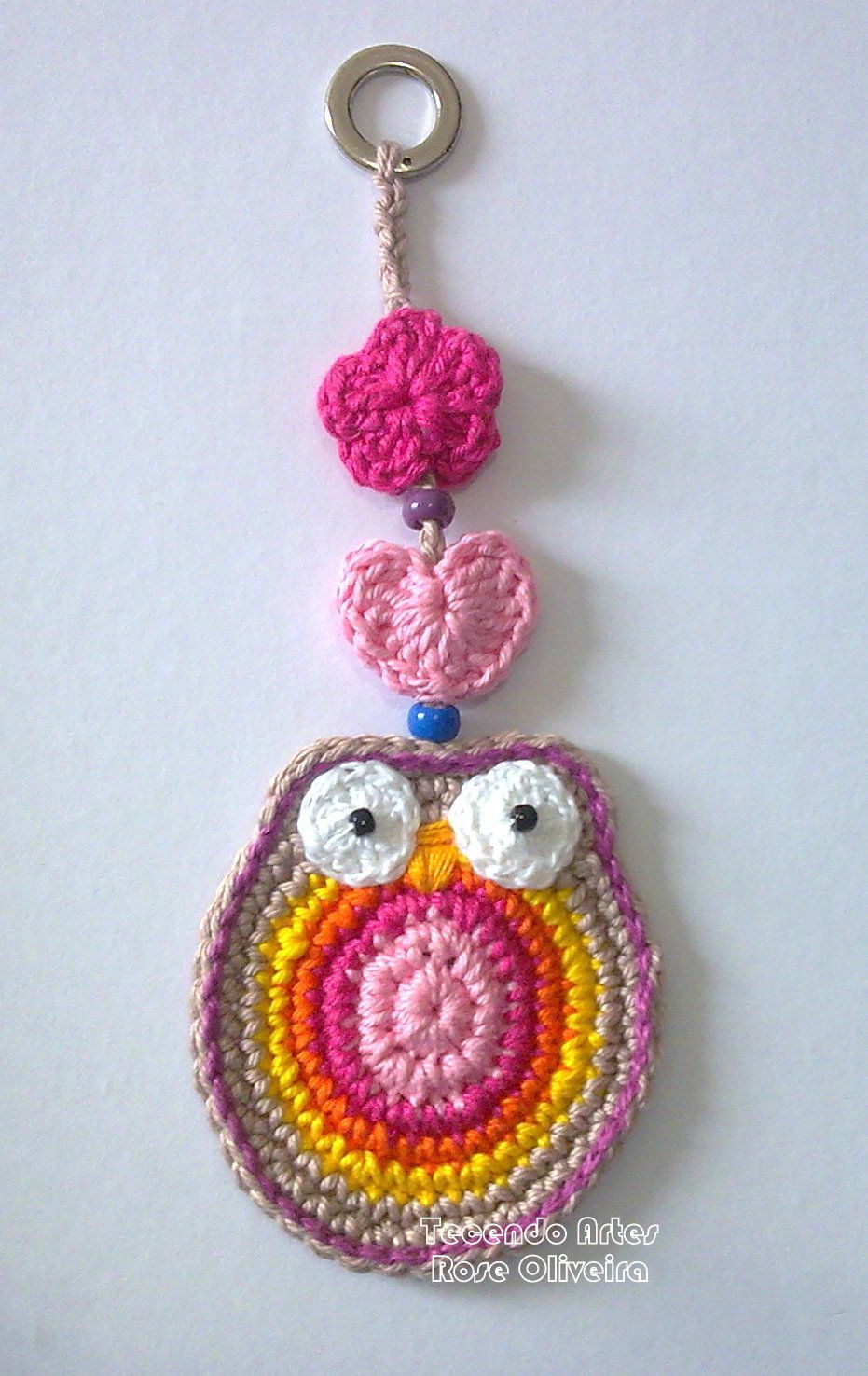 Cool Crochet Patterns : coruja - enfeite Cool Crochet Ideas and Patterns Pinterest