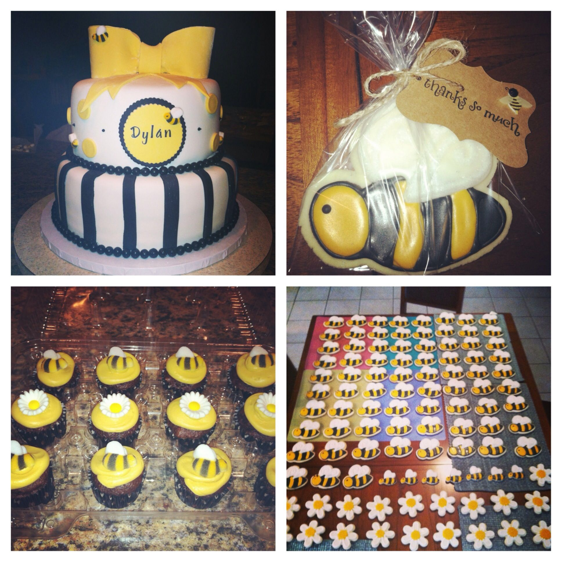 bee theme baby shower it 39 s a girl pinterest