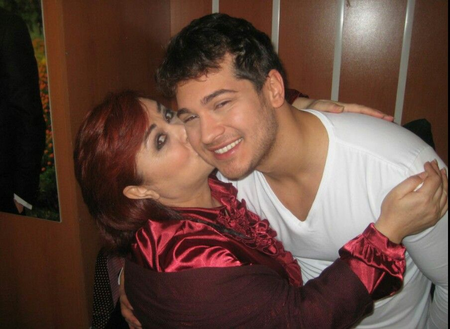 Cagatay Ulusoy and His Wife