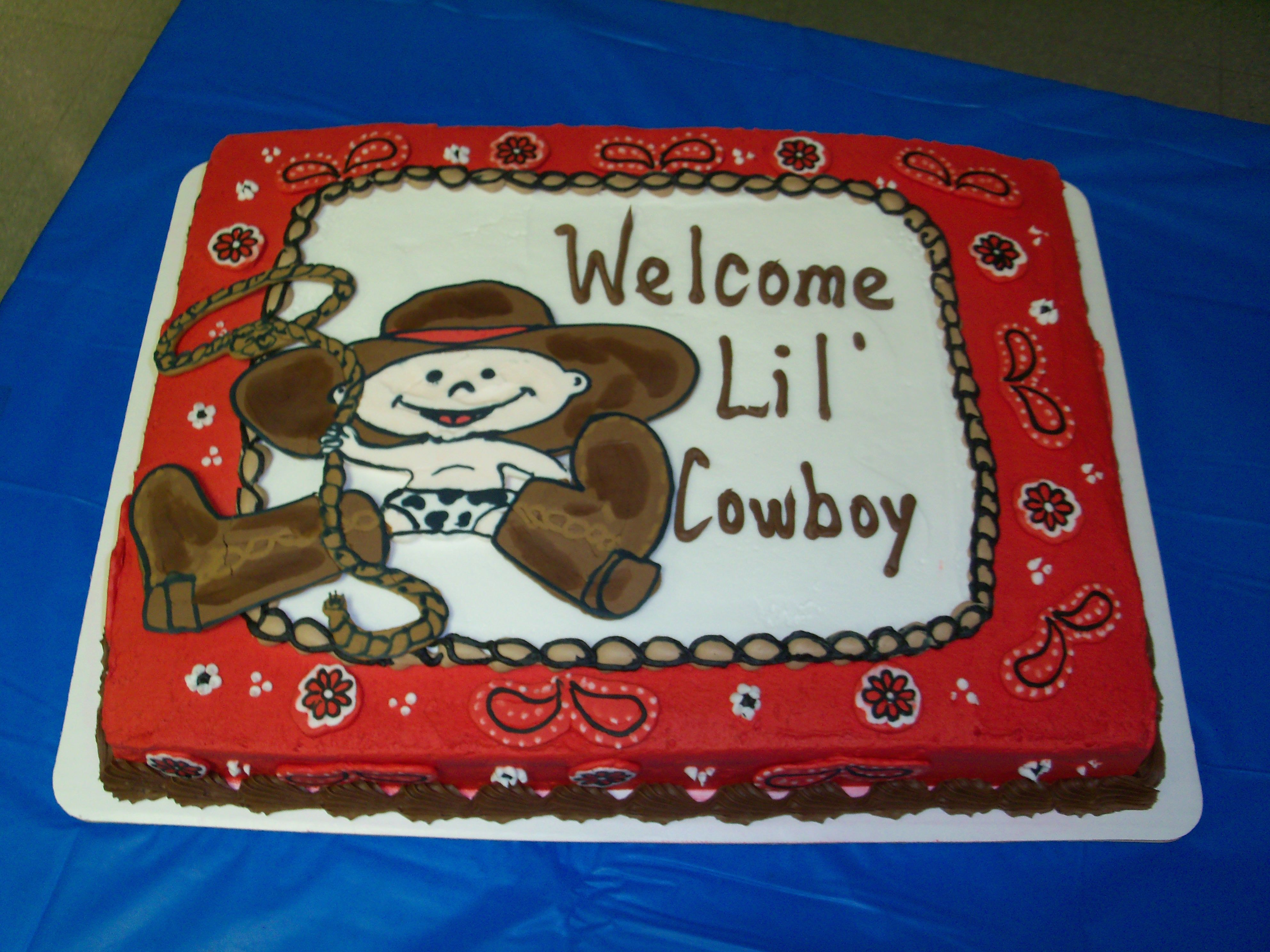 cowboy baby shower cake baby showers pinterest