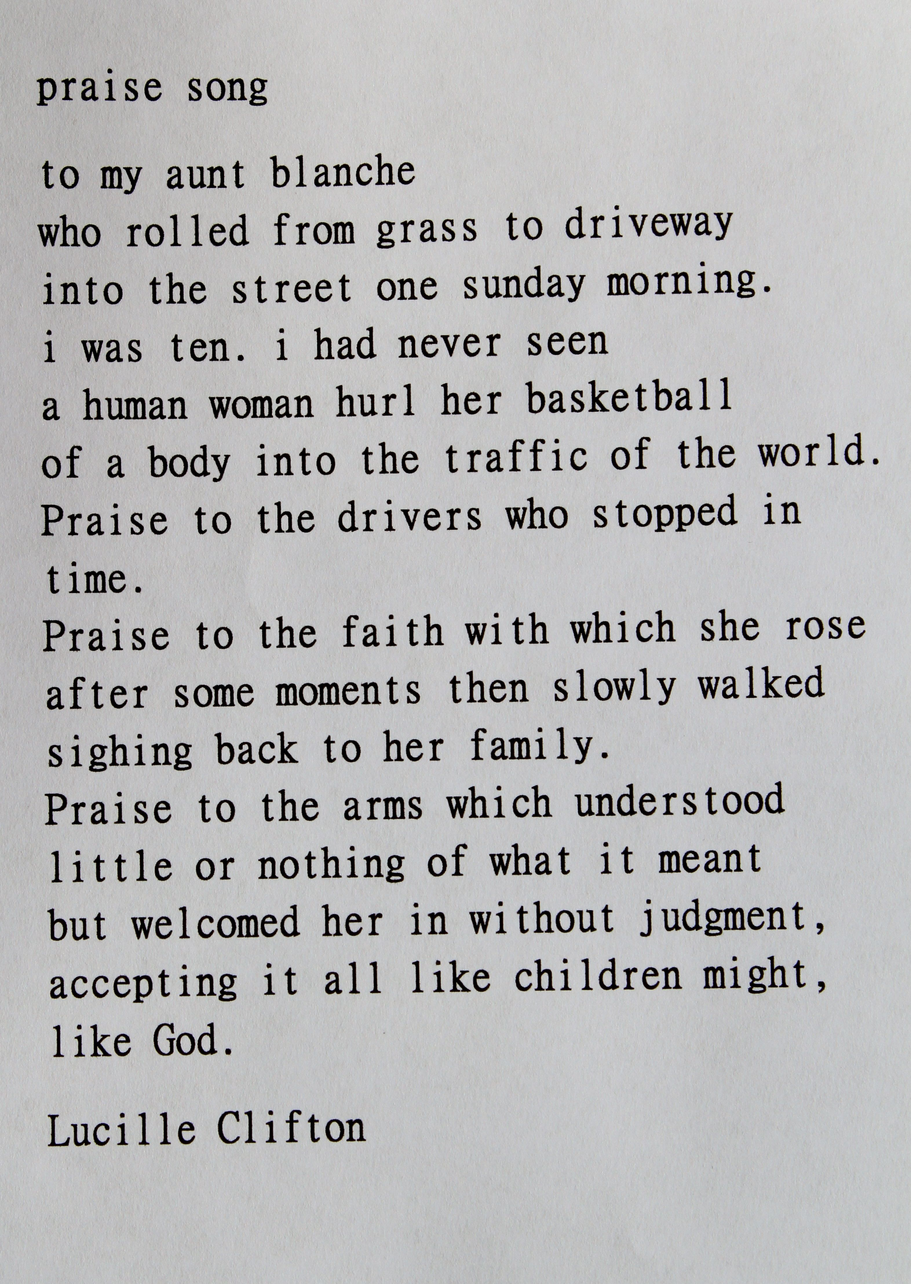 growing up as the core of lucille cliftons poem forgiving my father Paul revere's ride - listen, my children  sign up to receive a new poem-a-day in your inbox sign up friday 9/14/01 by lucille clifton.