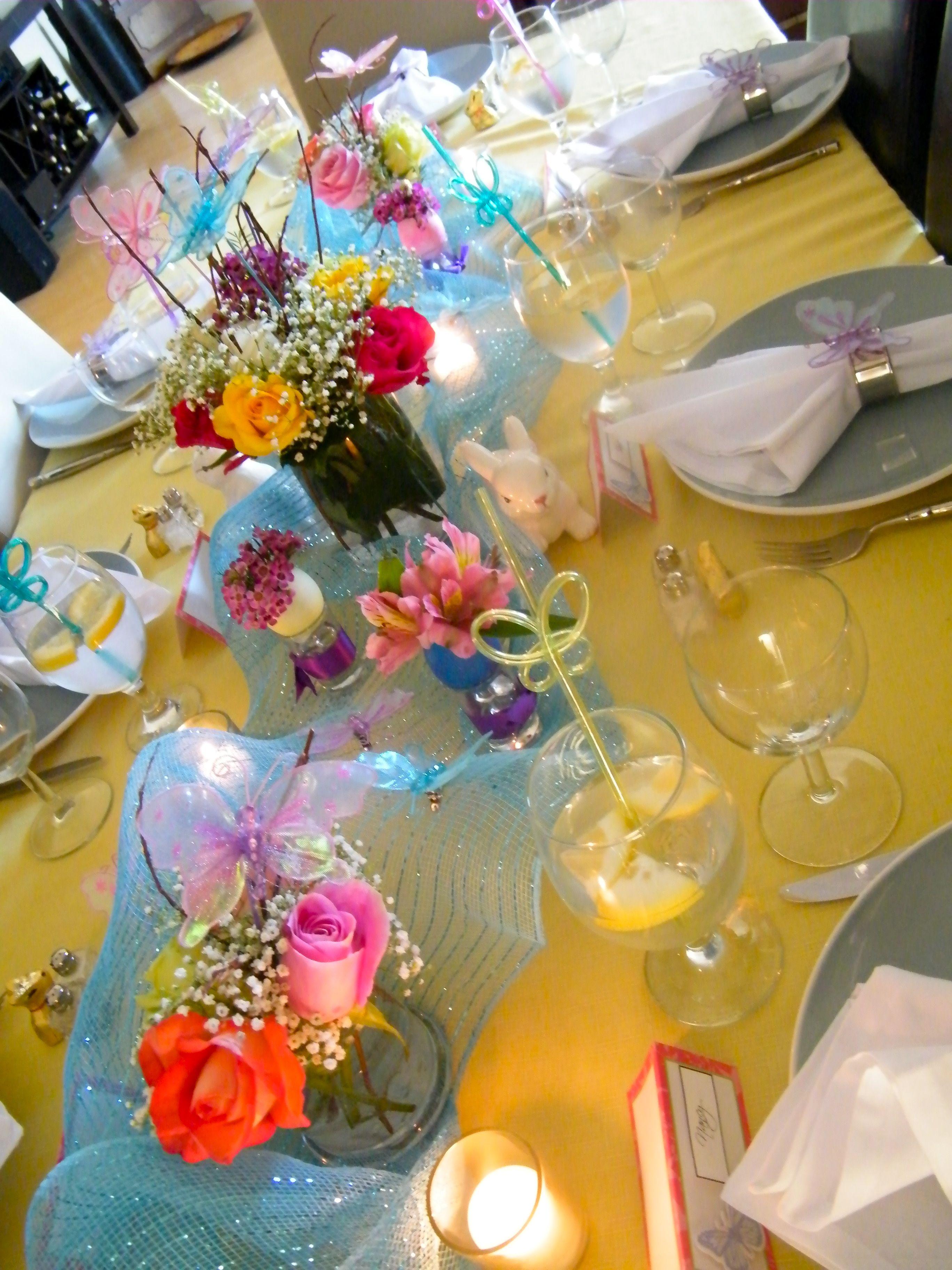 Easter table decor easter ideas pinterest for Easter decorations for the home pinterest