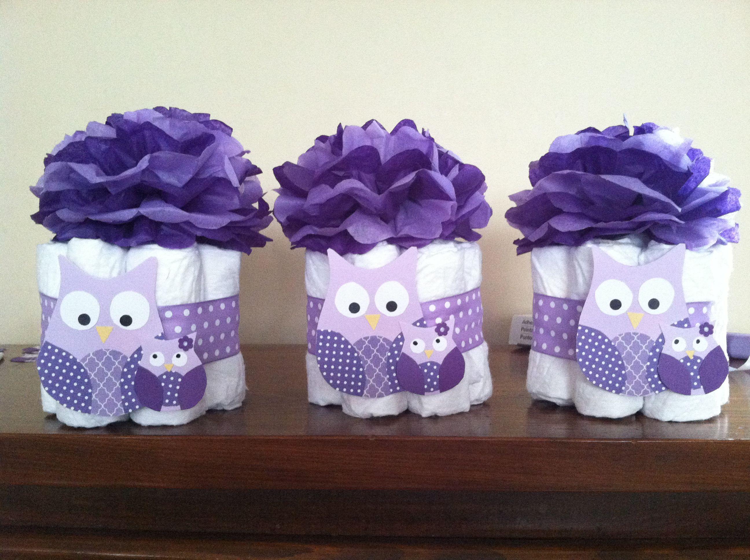 Pin mini diaper cake princess castle great decoration baby