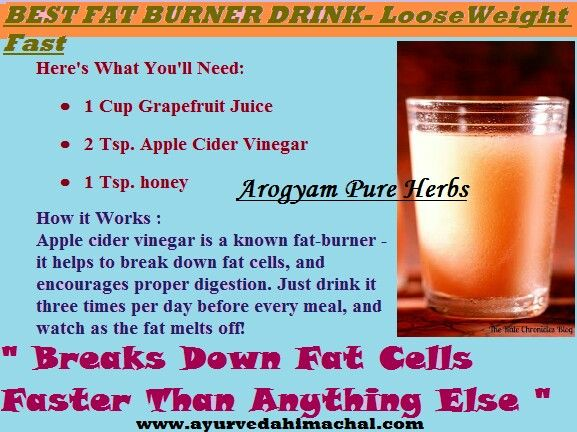 Best fat burner drink | Food | Pinterest