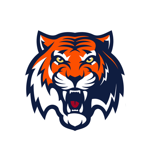 75 Best Tigers Logos images in 2019  Tiger logo Tigers