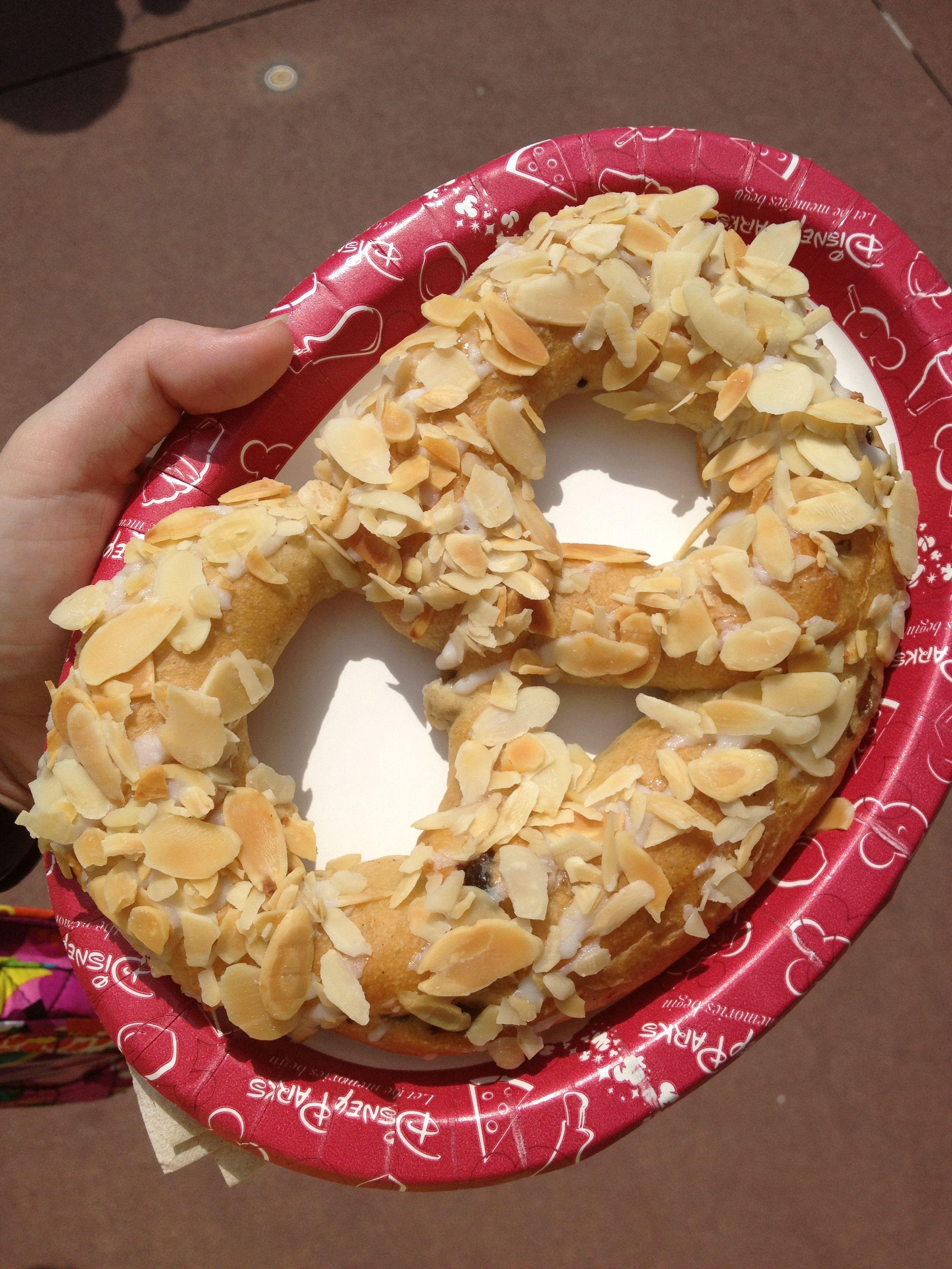 Sweet Pretzel with almonds from Norway. | Walt Disney World ...