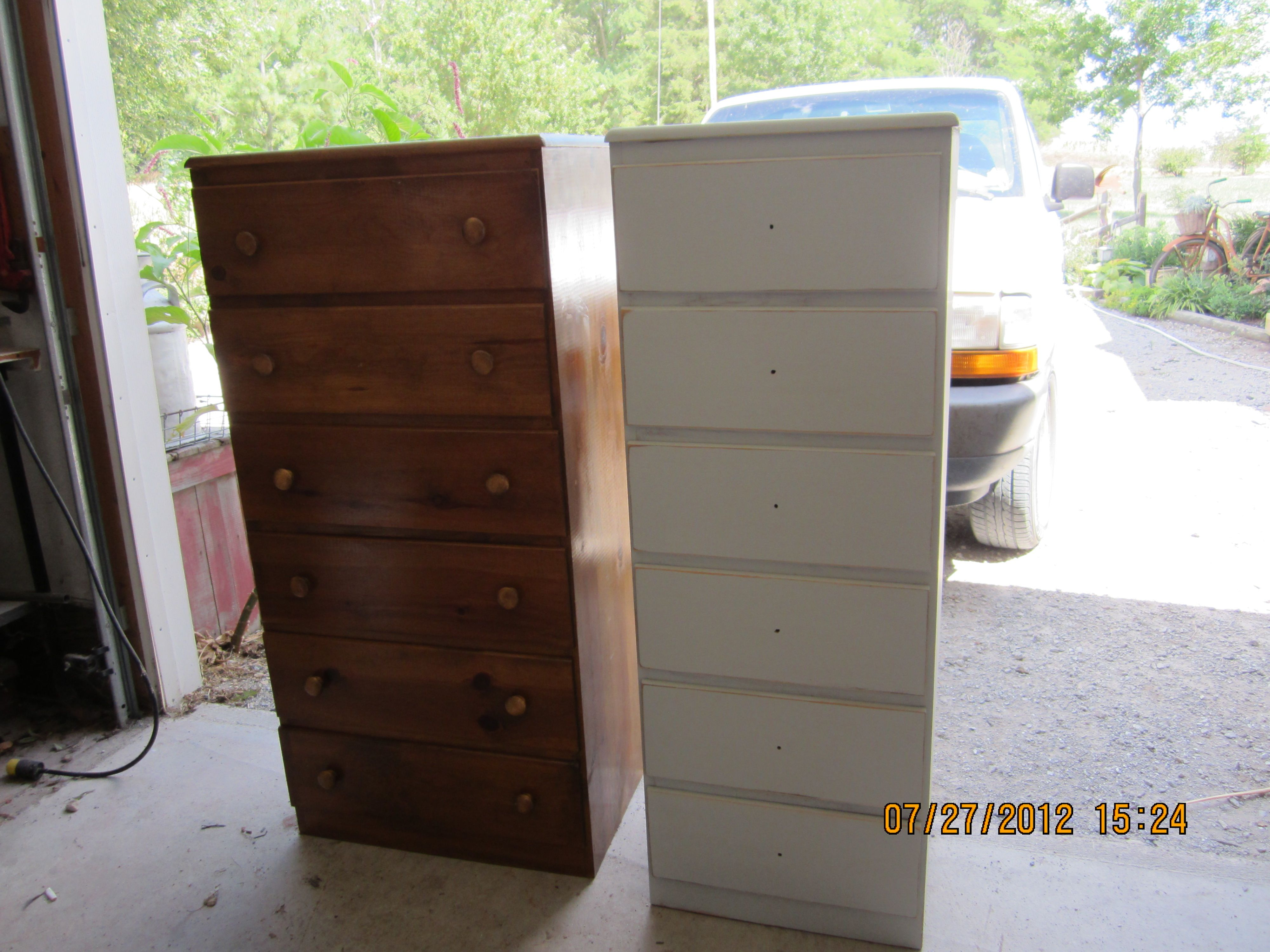 Before and After | Repurposed Junk | Pinterest