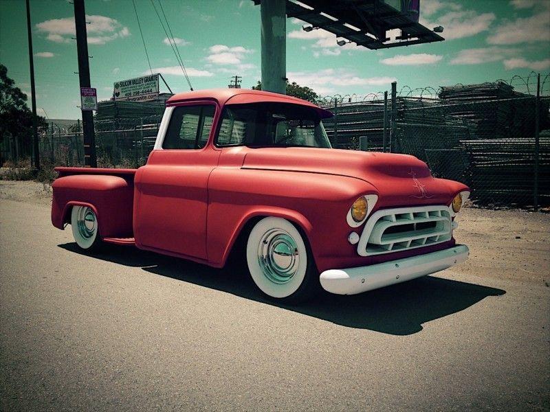 57 Chevy Chevy Gmc Trucks Pinterest