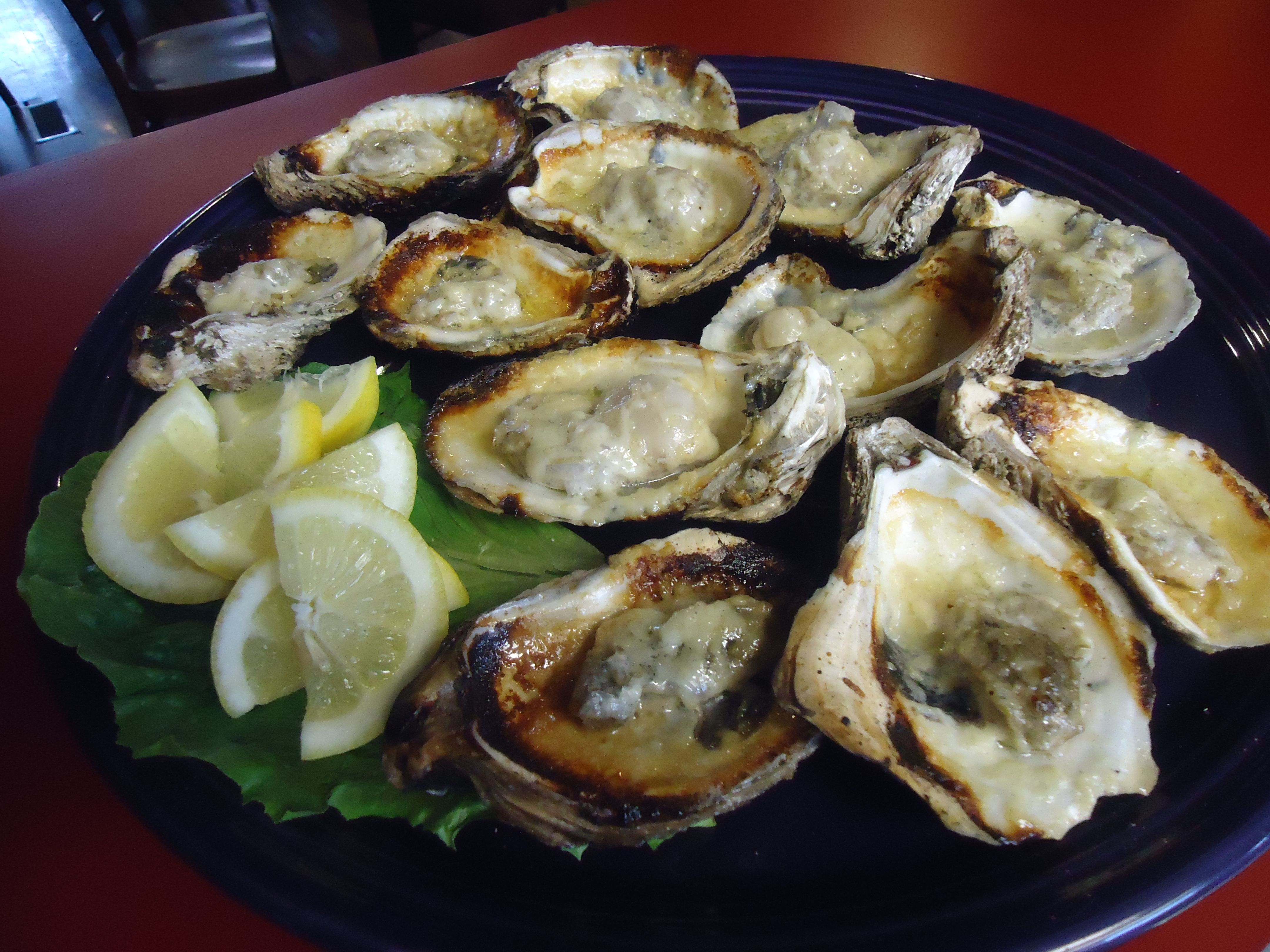 oysters grilled New Orleans Style | All About Food :o) | Pinterest