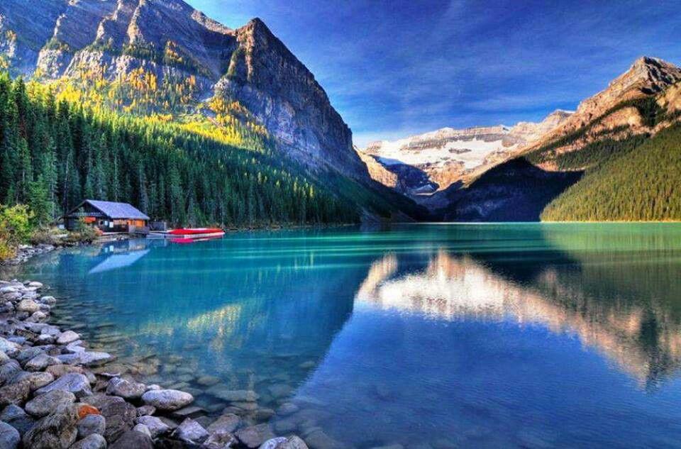 Lake Louise Canada Around The World Exotic Beautiful Places Pi