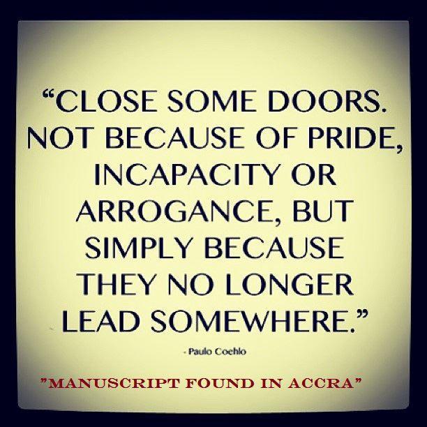 Closing Doors Quotes. QuotesGram