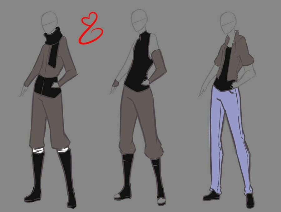 Rika-dono   Drawing outfit Ideas   Pinterest