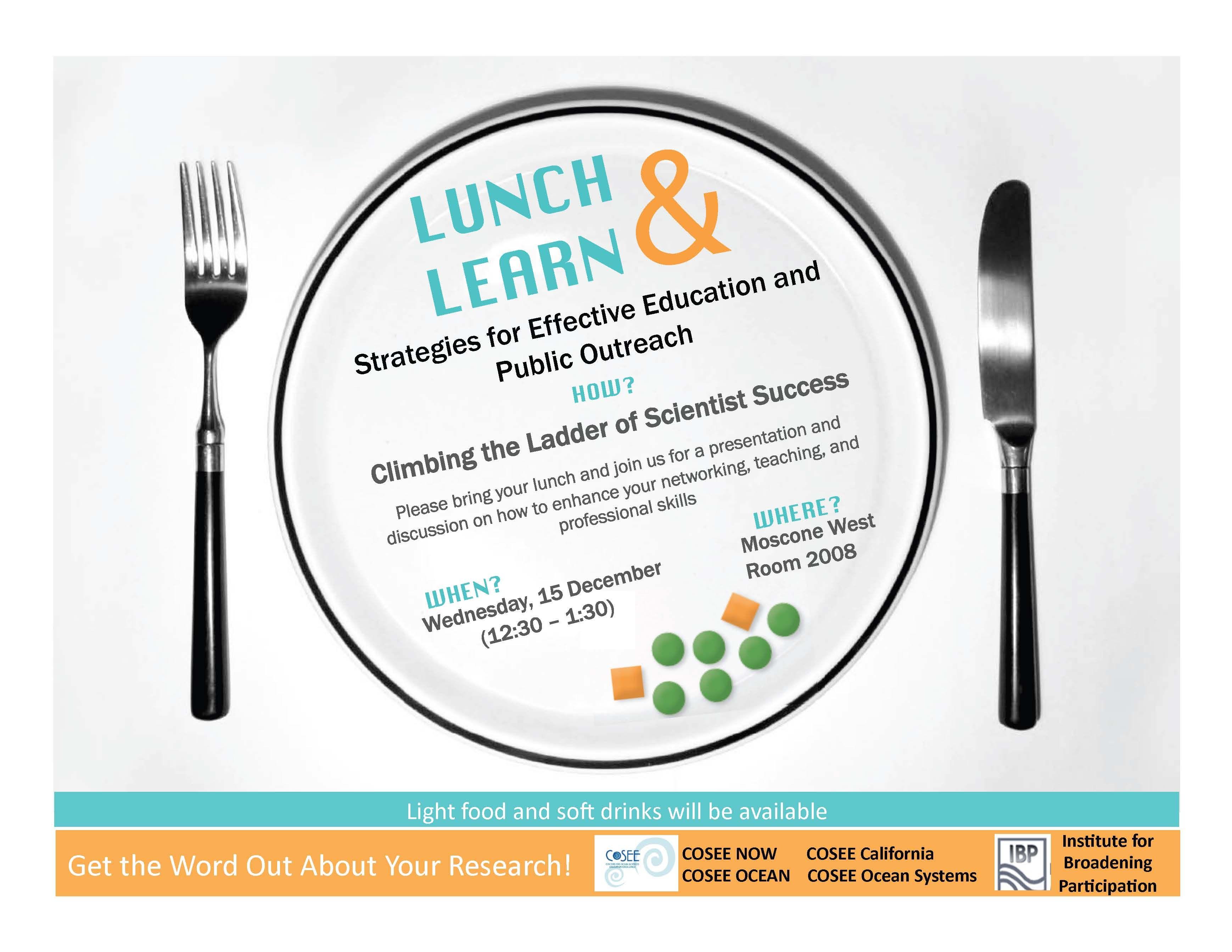 lunch  u0026 learn flyer