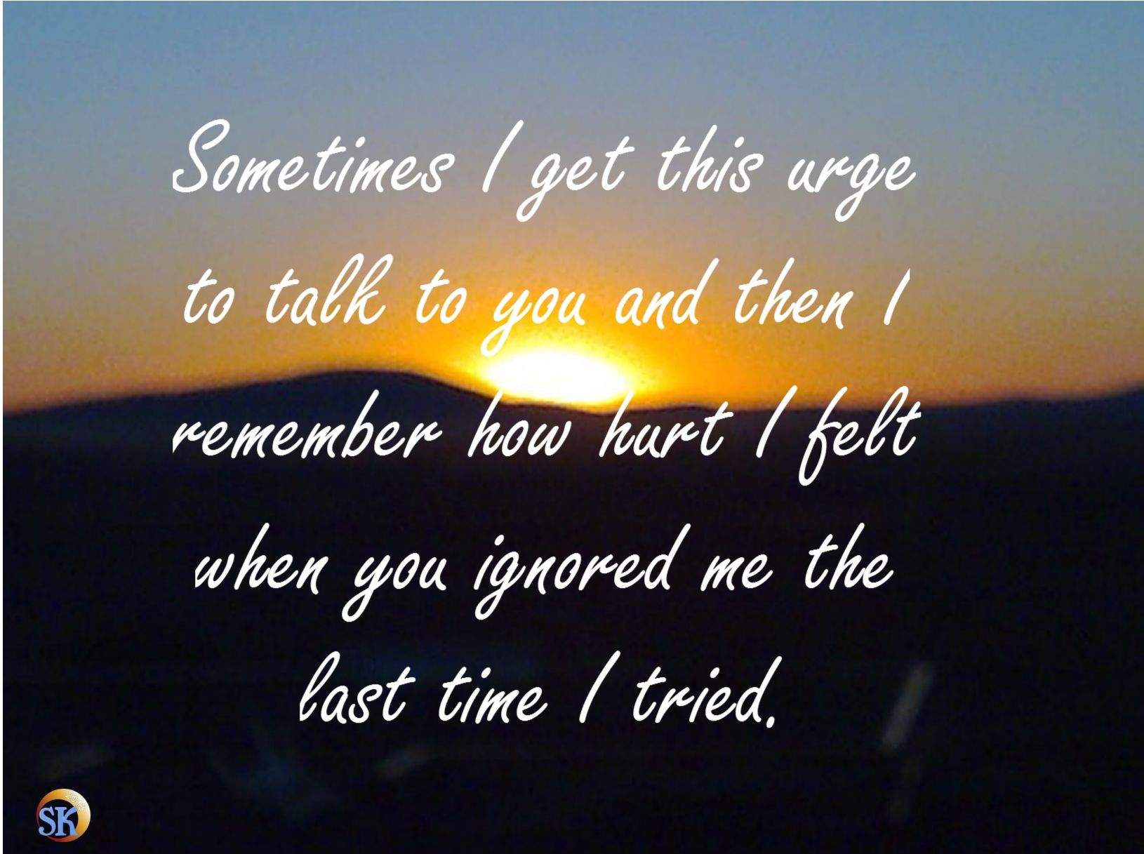feeling ignored Quotes Pinterest