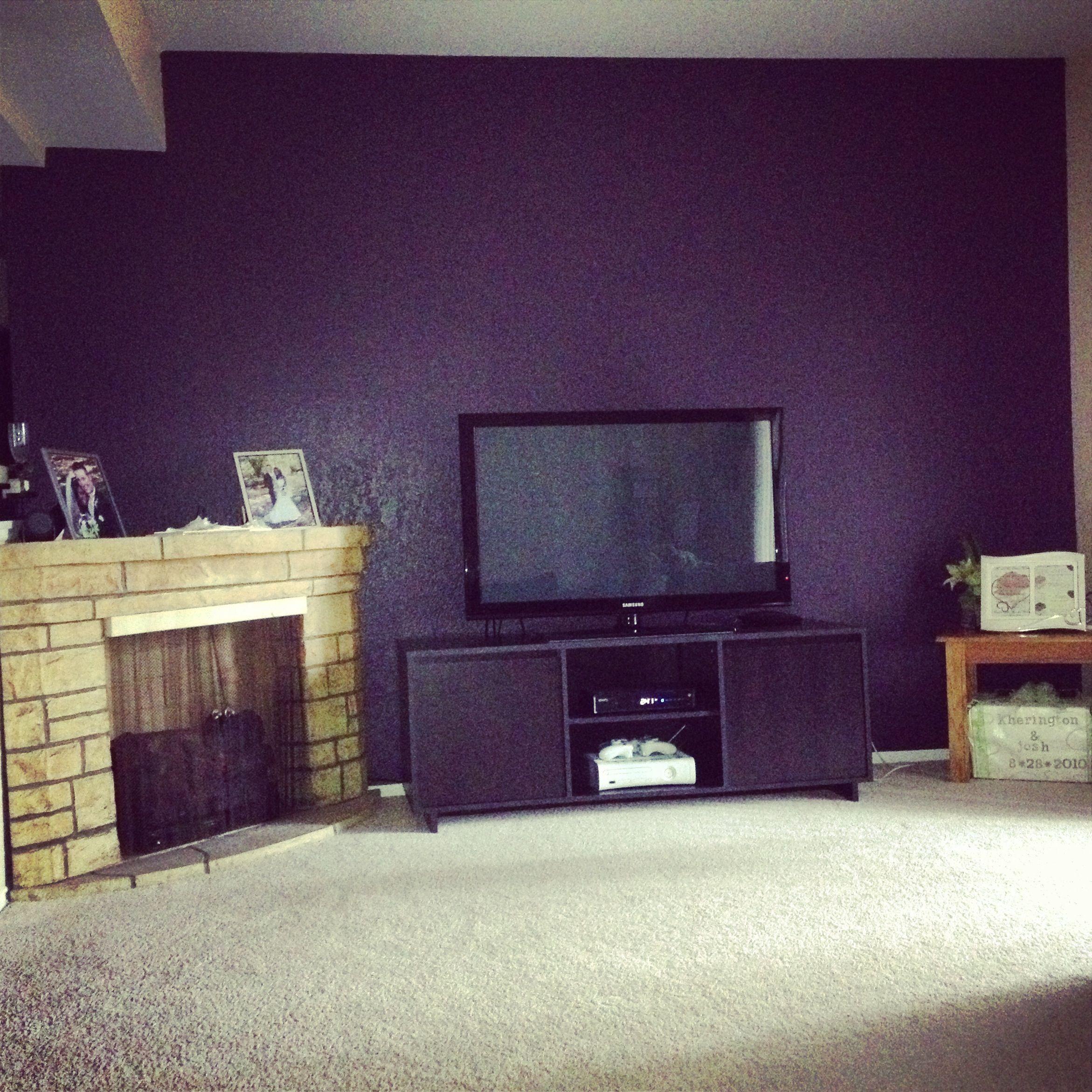 Valspar Paint Purple Fury Home Pinterest