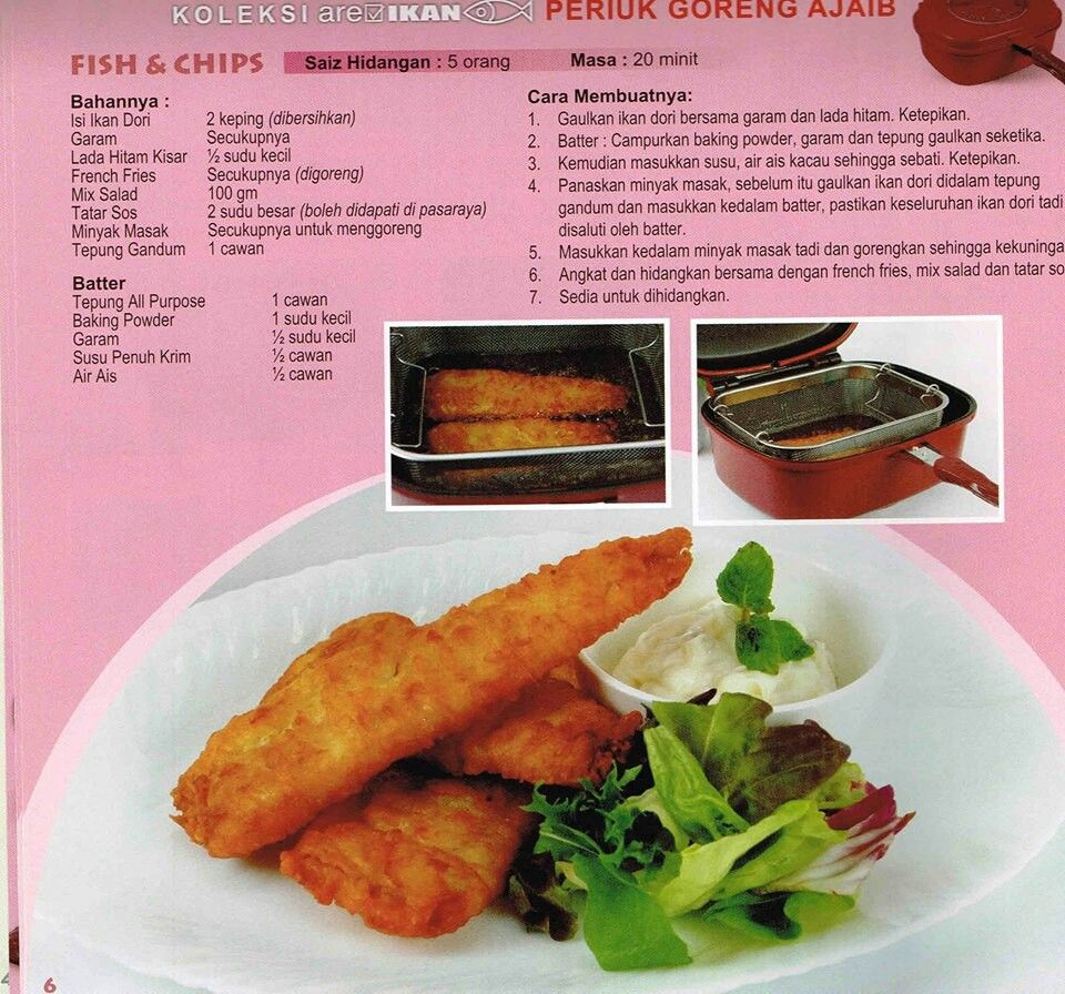 Fish & chips | Recipes - Rice, savoury dishes , salad | Pinterest