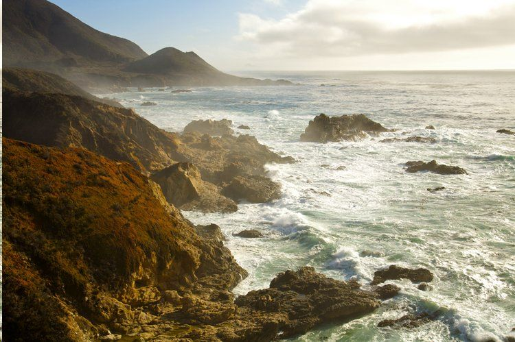 Big sur coast in california places to visit pinterest for Big sur fishing