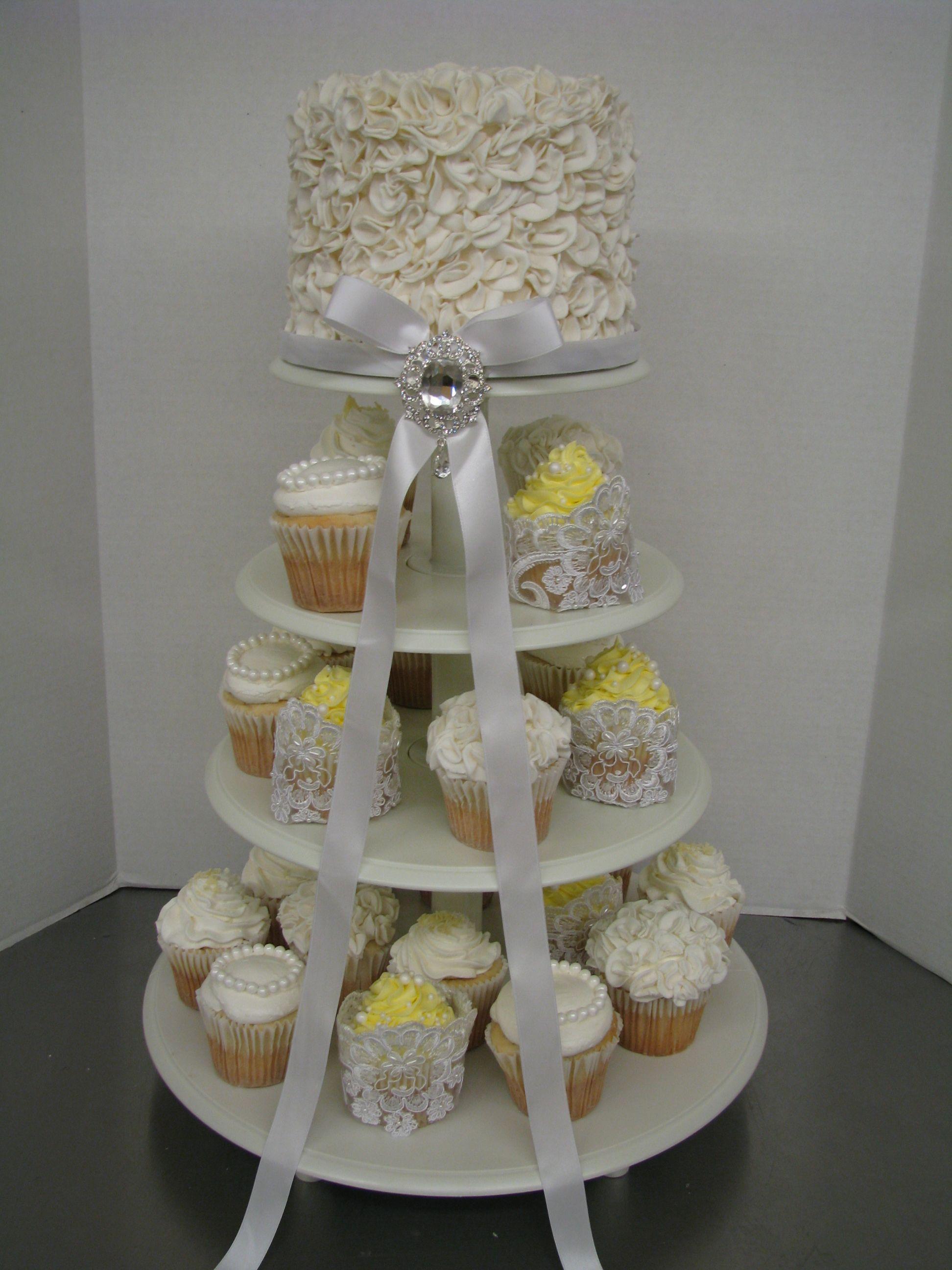 bridal shower cakes cupcakes pinterest. Black Bedroom Furniture Sets. Home Design Ideas