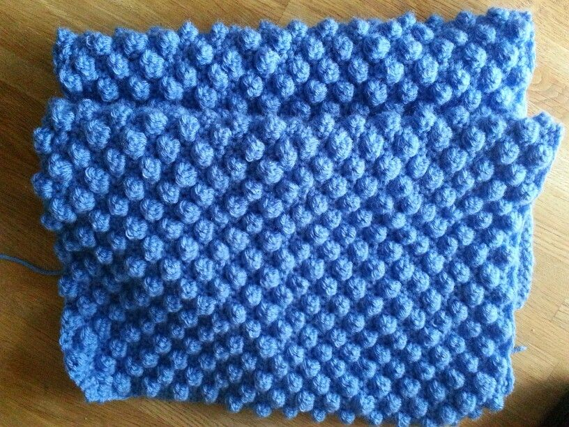 Knitting Blackberry Stitch In The Round : Share