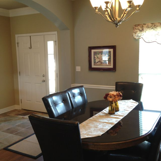 Front entry and formal dining room living dining room for Dining room entrance ideas