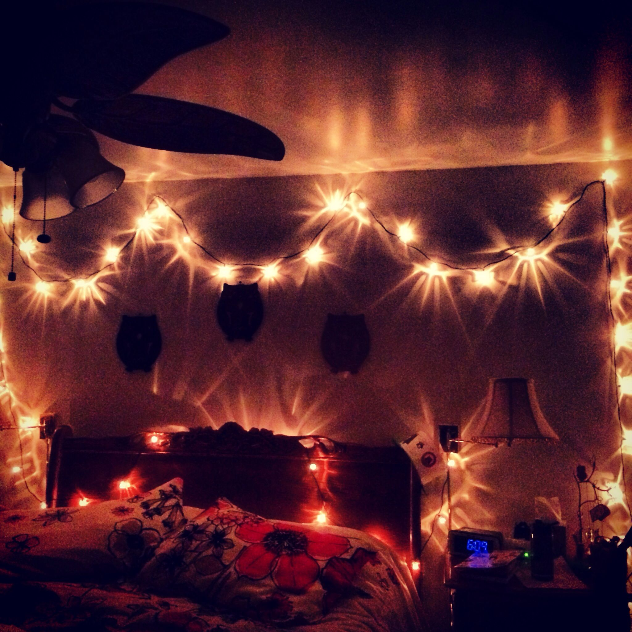 Bedroom Christmas Lights Diy Cool Ideas Diy Pinterest