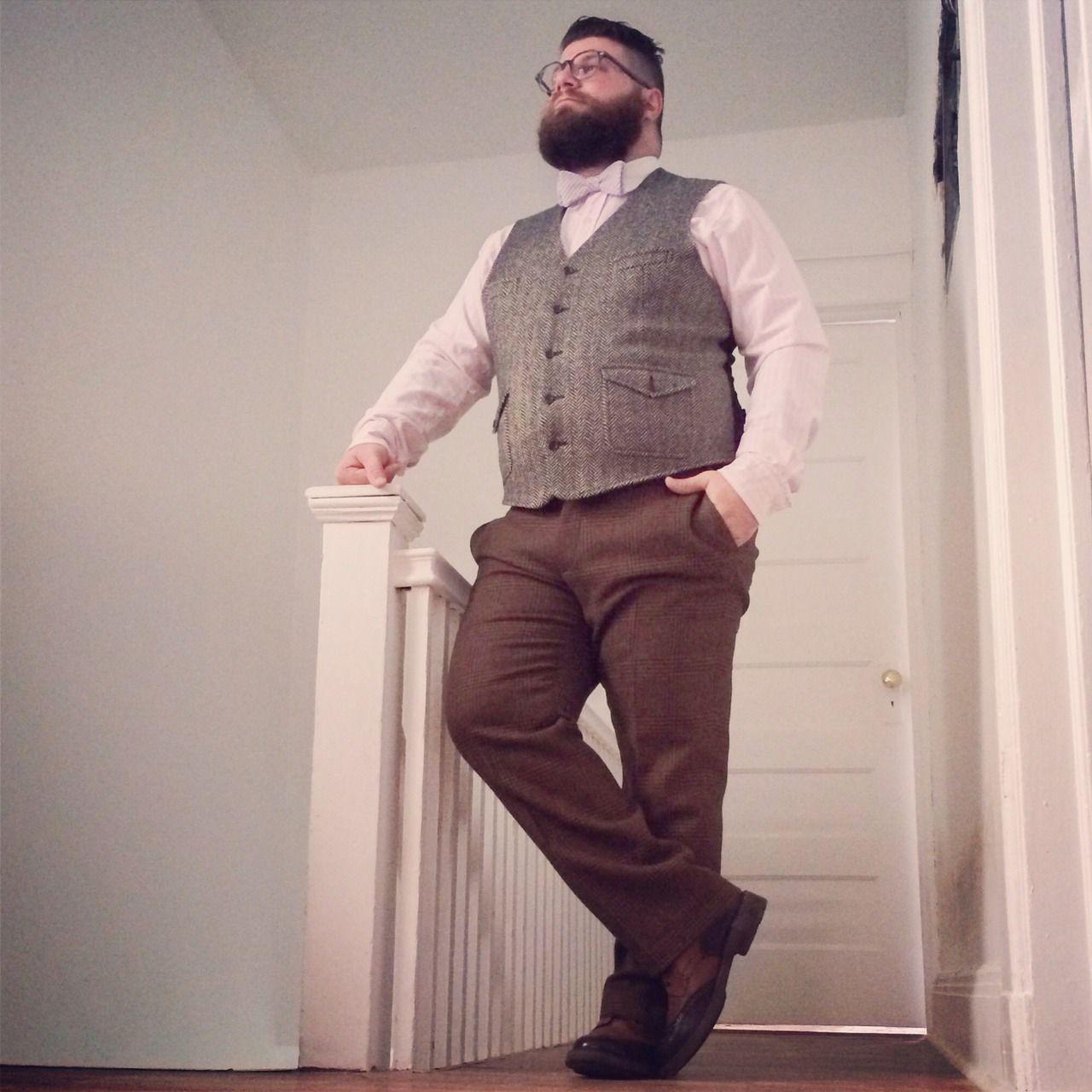 Men plus size fashion 68