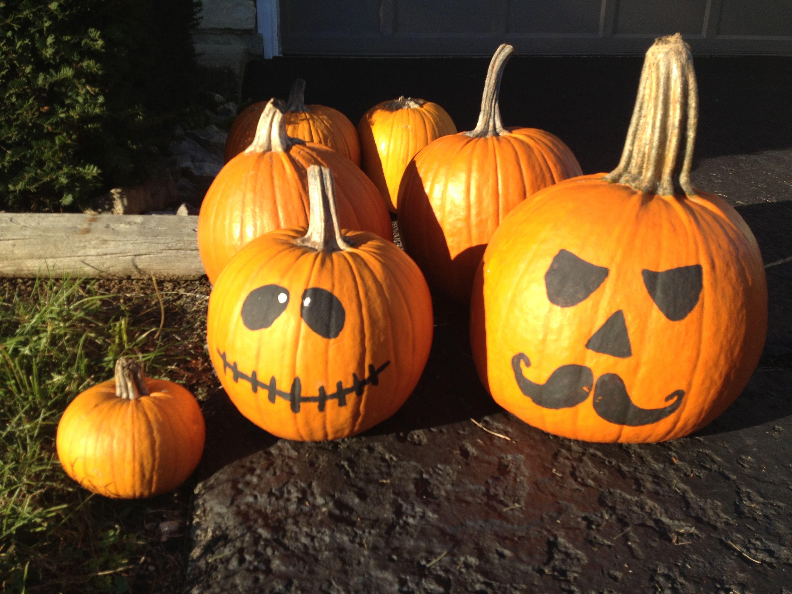 Pumpkin painting halloween ideas creative ideas for my for Halloween painting ideas