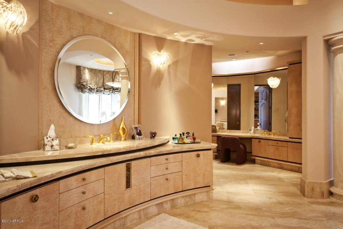 Luxury master bath bathroom with columns luxury dream for Luxury master bath
