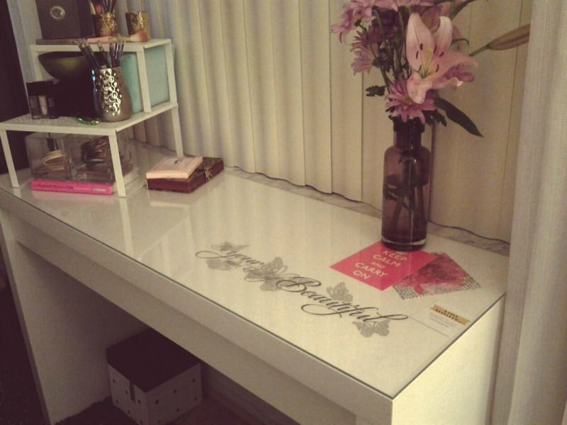 Ikea Glass Cabinet Philippines ~ Dressing Table Ikea Ikea Malm Vanity Makeup Table