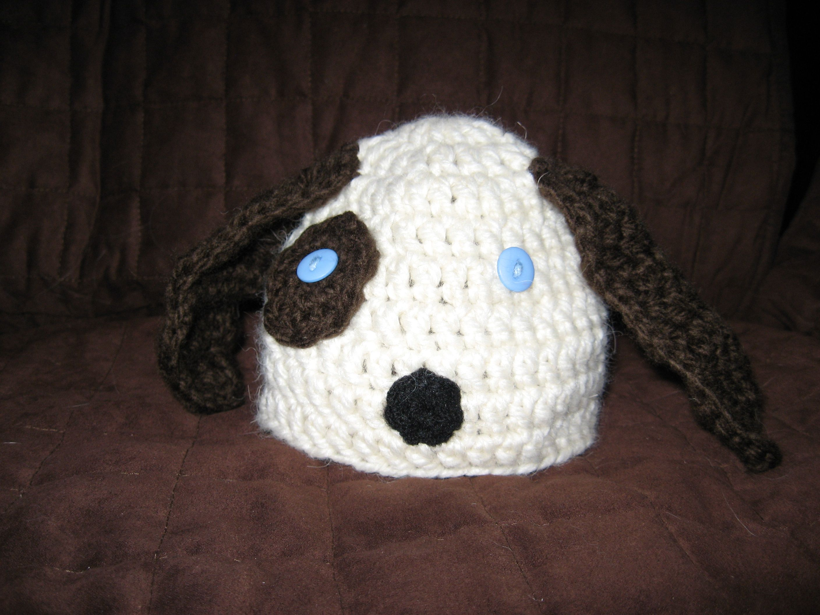 Crocheting With Mikey : Baby Mikeys Puppy Hat Crochet Pinterest