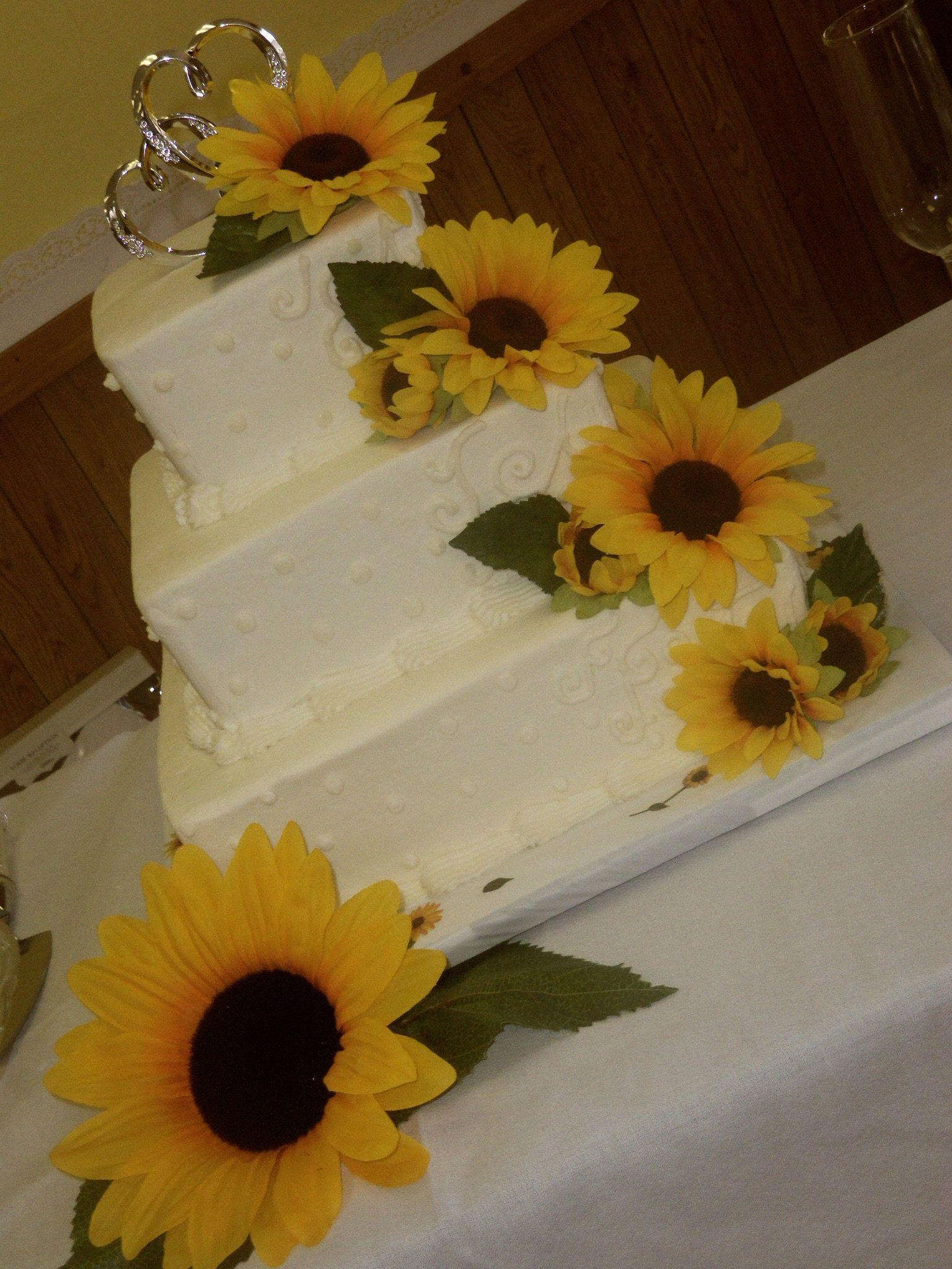 Pin Sunflower Wedding Cake Cake on Pinterest