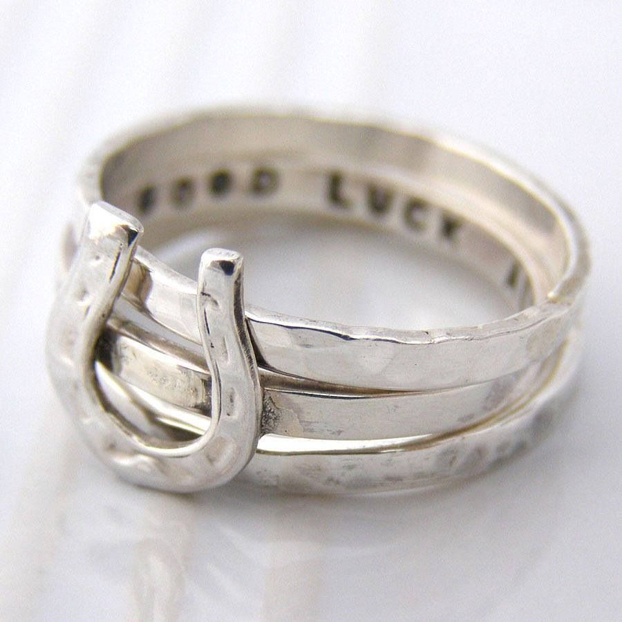 horseshoe ring jewelry