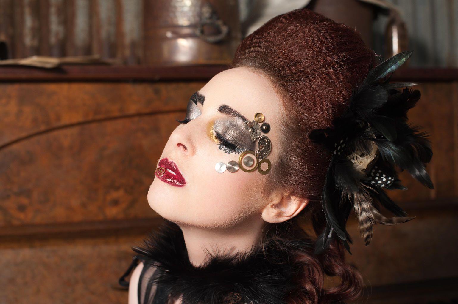 steampunk make up gothic and steampunk make up pinterest. Black Bedroom Furniture Sets. Home Design Ideas