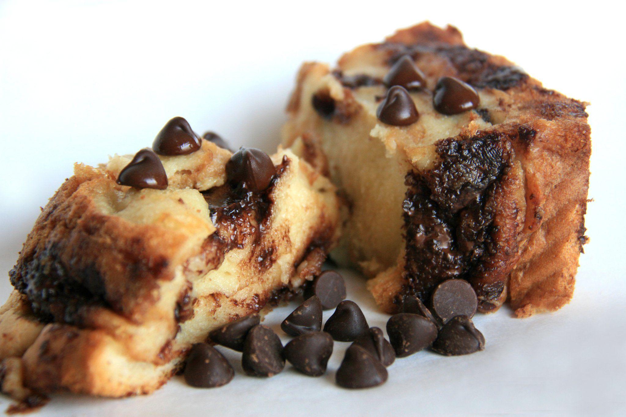 Chocolate Chip Bread Pudding | yummmy!! | Pinterest