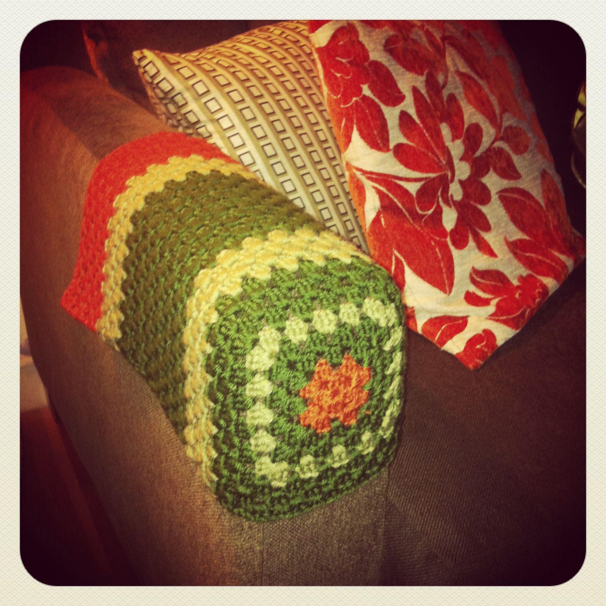 Arm Chair Covers Crochet Pinterest