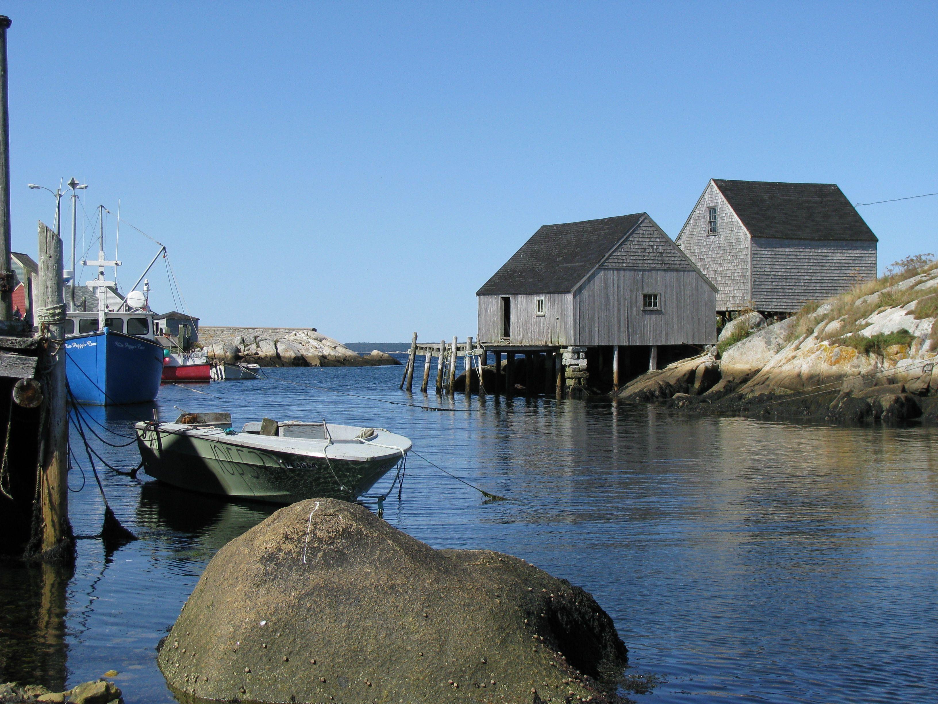 Fishing village in nova scotia photos travel pinterest for Nova scotia fishing