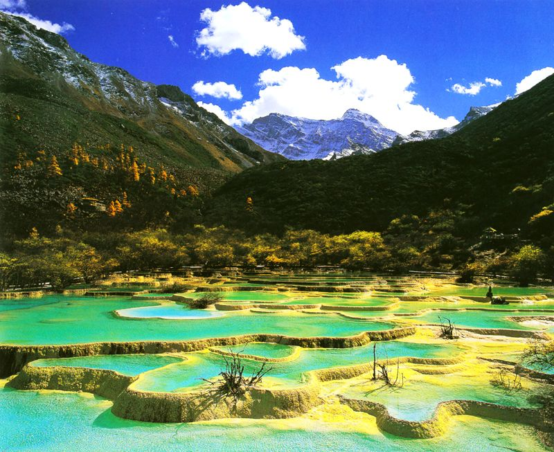 Huanglong, Sichuan, China | Places to go China | Pinterest