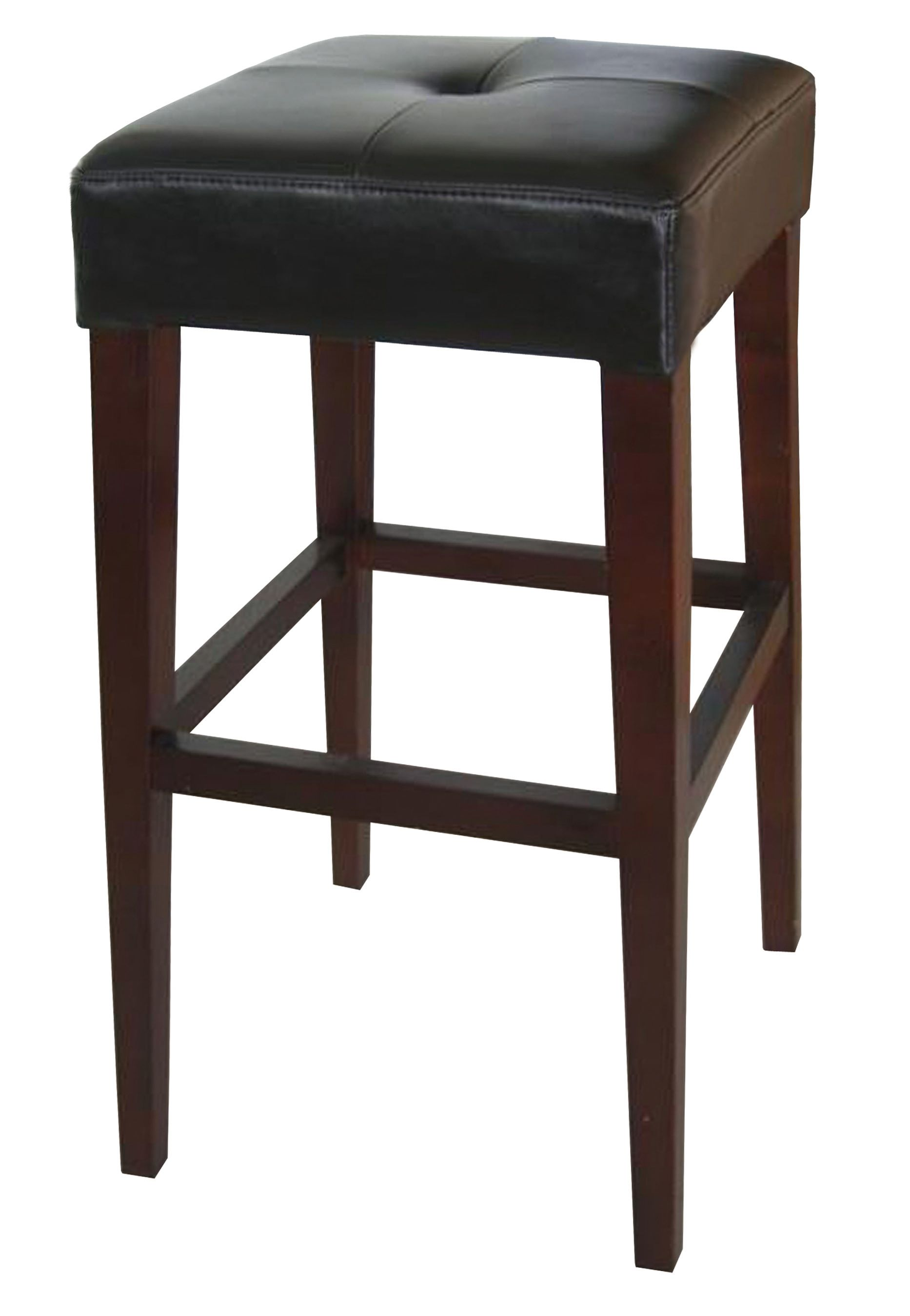 Marvelous photograph of Leather and wood bar stool Chairs by LH Imports Pinterest with #5E493D color and 1866x2700 pixels