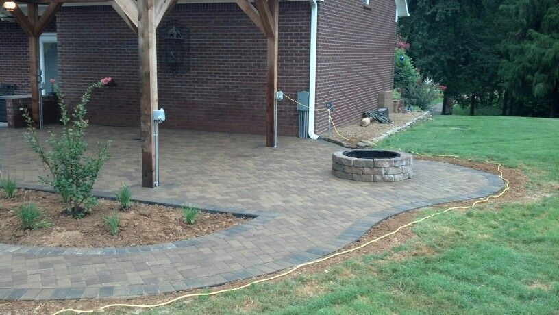 great patio  Backyard  Pinterest