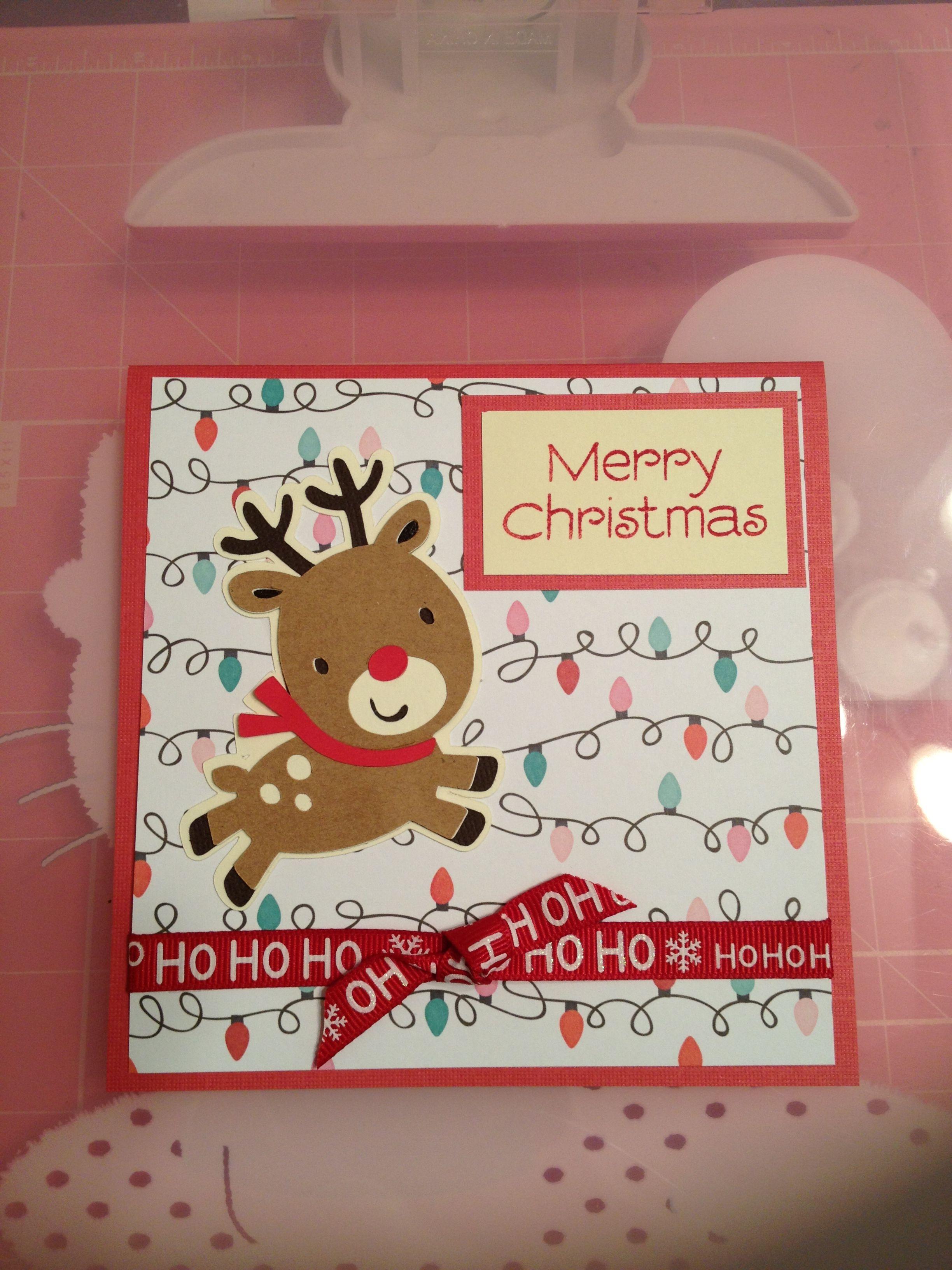 Christmas Card | Cricut ideas | Pinterest