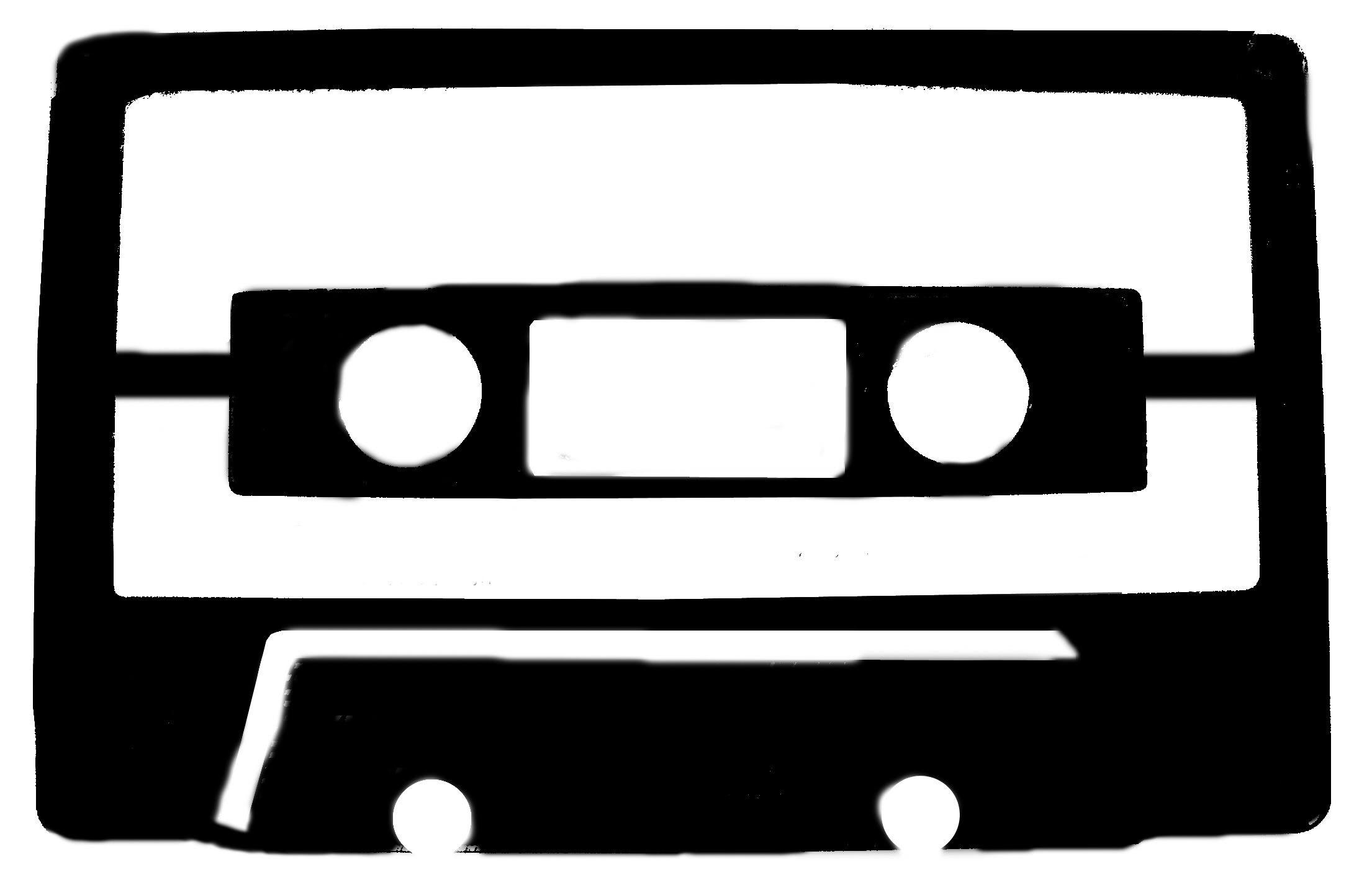 cassette tape stencil appliques stencils fonts pinterest
