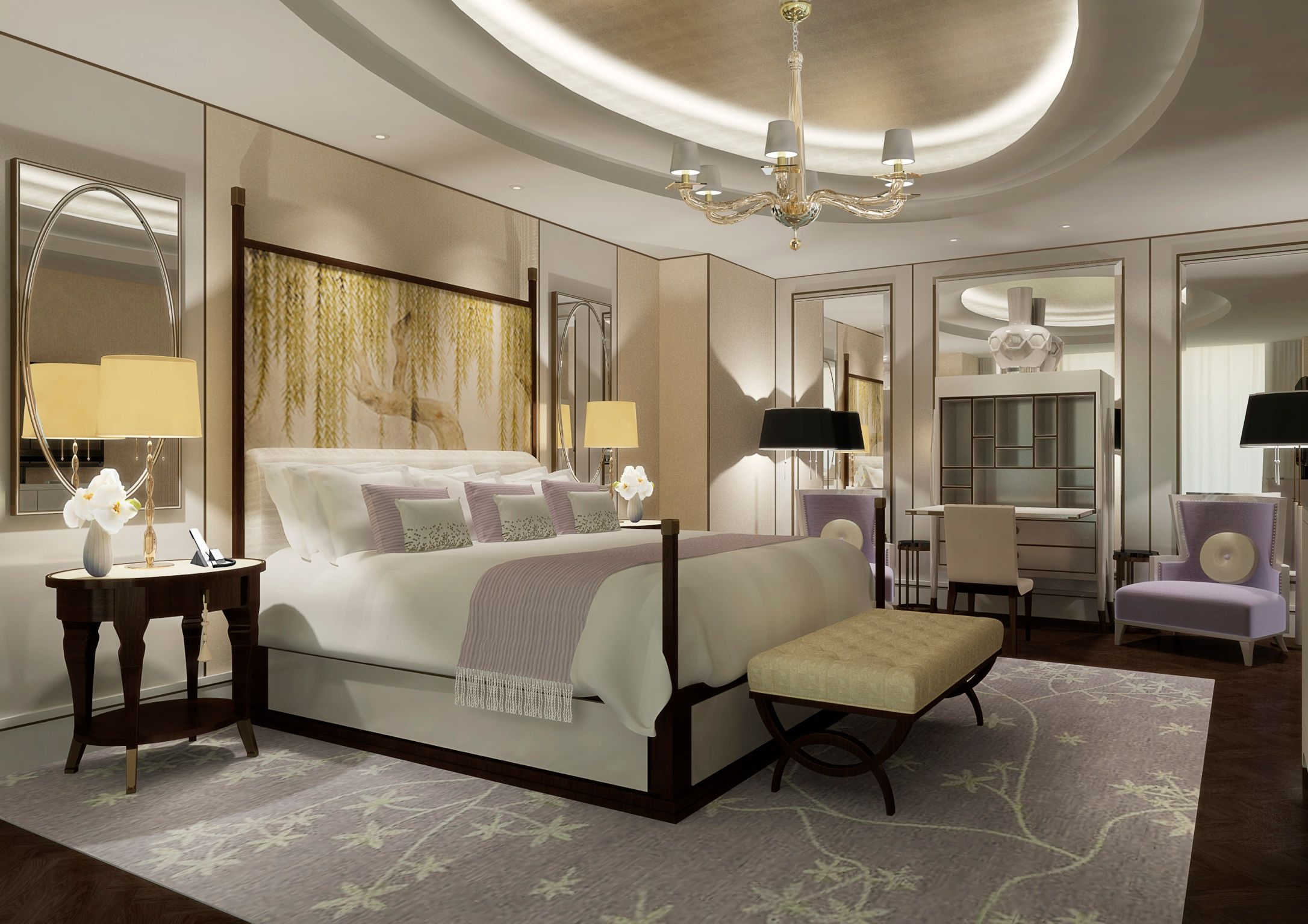 Infinity Suite At The Langham Chicago Hotels Pinterest